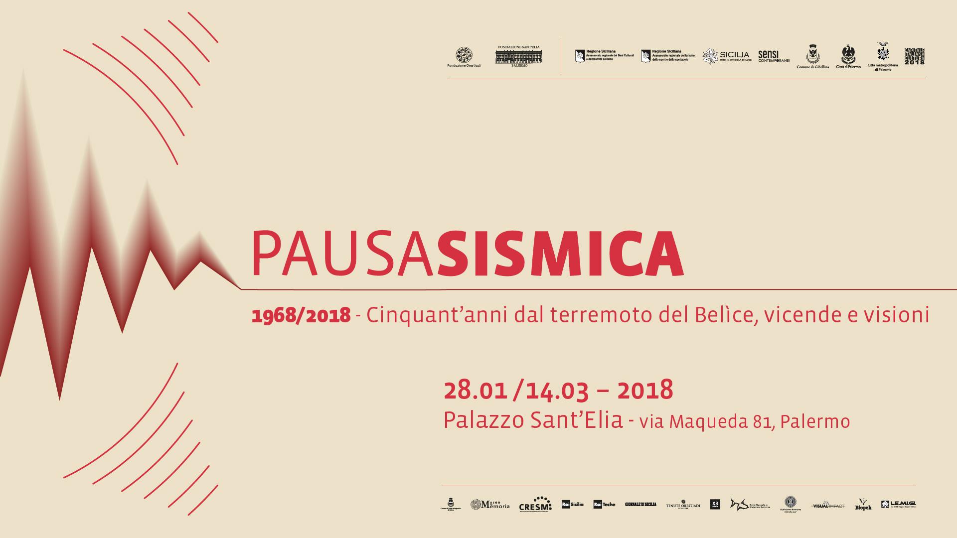 """Visual Impact sponsor ufficiale della mostra """"Pausa Sismica"""""""